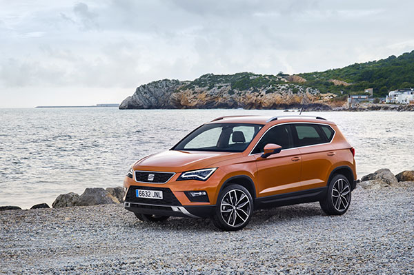 VW Tiguan vs Seat Ateca (190PS TDI DSG)